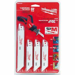 Milwaukee 49-22-0220 10-Piece General Purpose Hackzall Blade