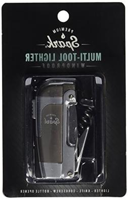 Spark 4-in-1 Multi-Tool Lighter/Knife/Corkscrew/Bottle Opene