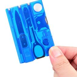 10 In1 Pocket Credit Card EDC <font><b>Multi</b></font> <fon
