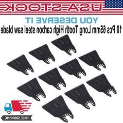 10PCS Wood Saw Oscillation Blades Oscillating Multitool Mult