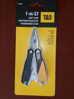 CAT 12-in-1 Multi-tool Lightweight Aluminum Frame Durable St