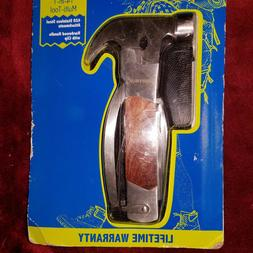 Sheffield 12913 The Hammer 14-In-1 Multi Tool Stainless Stee