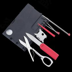 12IN 1 Multi-function tools swiss knife flash light Outdoor