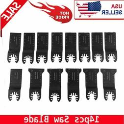 14PCS CLOSEOUT Oscillating Multi Tool Saw Blades For Cutting