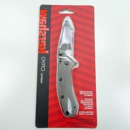 "Kershaw Cryo Folding Knife ; 2.75"" 8Cr13MoV Steel Blade, S"