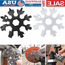Snowflake 18-1 Multi Tool Snow Flake Steel Shape Flat Cross