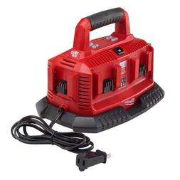 Milwaukee 48-59-1806 M18 Six Pack Sequential Charger