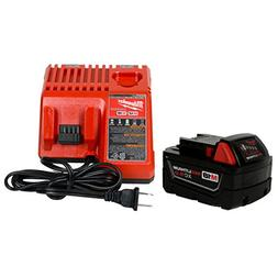 Milwaukee 48-59-1812 M12/M18 Battery Charger &  48-11-1850 5