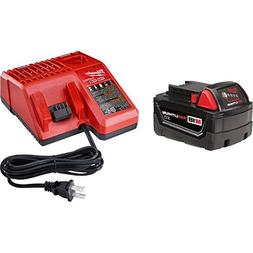 Milwaukee M18 18-Volt Starter Kit  - Includes 3.0Ah XC Batte