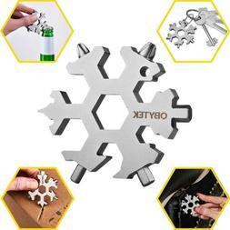 Obytek 19-in-1 Titanium Steel Snowflake Multi Tool - EDC Mul