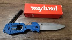 Kershaw 1920 Select Fire Blue Multi Tool Folding Pocket Knif