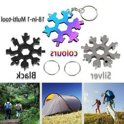 1pc 18-in-1 Multi-tool Combination Compact Portable Outdoor