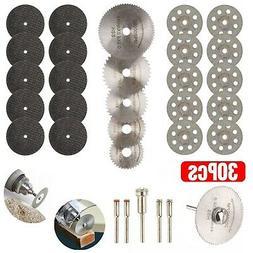 30Pcs Cutting Wheel Set for Mini Drill Dremel Rotary Tool Ac