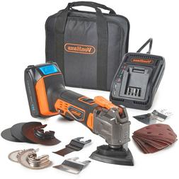 VonHaus 20V Cordless Oscillating Multi-Tool Kit with Li-Ion