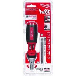 MILWAUKEE 48-22-2301 10-in-1 Magentic Ratcheting Multi-Bit E