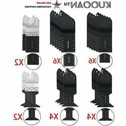 24X Universal Bi-Metal Oscillating Multi Tool Mix Saw Blades