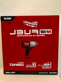 """Milwaukee 2767-20 M18 FUEL 1/2"""" High Torque Impact Wrench wi"""