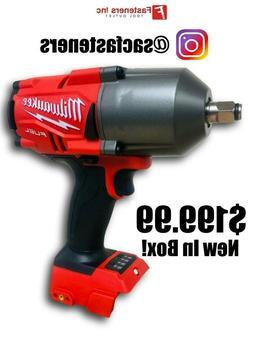 "Milwaukee 2767-20 M18 FUEL 1/2"" High Torque Impact Wrench w/"