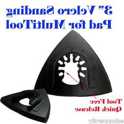 "3"" Oscillating Multi Tool Sanding Pad Dewalt Craftsman Bosch"