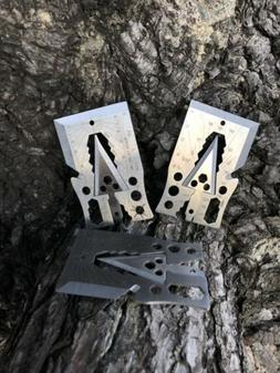 3 Pack Tactical Credit Card Axe 21 Function New multi tool
