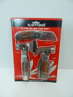 3 piece multi tool and knife set