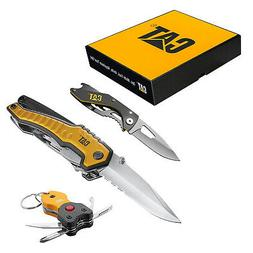 Cat 3 Piece Multi-Tool and Pocket Knife Gift Set Box - 24012