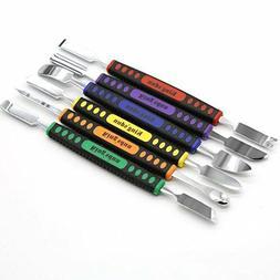 6 in 1 Repair Opening Tools Metal Pry Spudger Disassemble Se
