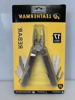 Leatherman 831550 Rebar Multi-Tool 17 Tools Stainless Steel