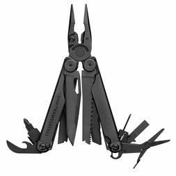 Leatherman 832533 Wave Plus Black Multi-Tool with Molle Shea
