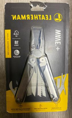 Leatherman 832563 Wave Plus 18-in-1 Multi-Purpose Tool Black