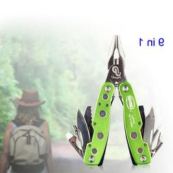 9 in 1 Multifunctional High Hardened Alloy Flat Pliers Knife