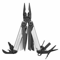 Leatherman 934850+931009+832531 Wave Plus Stainless Steel Mu