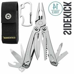 LEATHERMAN - Sidekick Multitool, Stainless Steel with Nylon