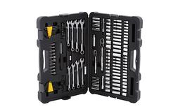 Mechanics Tool Set Kit 145-Piece Silver Multi-tool Hand Dura