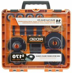 NEW SEALED BOX - RIDGID JobMax Multi-Tool Blade 14-Piece Set