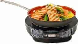 NUWAVE 30242 Lightweight Induction Cooktop with 9 in Fry Pan