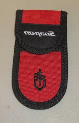 Snap On Tools Red Gerber Multi Tool MP600 Nylon Sheath Knife