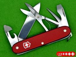 💚 VICTORINOX PIONEER X RED LCSAS - 0.8231.20R4 - ALOX -