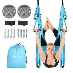 INTEY Aerial Yoga Flying Yoga Swing Yoga Hammock Trapeze Sli