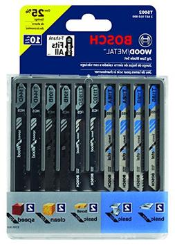 10 Count Assorted Jigsaw Blades T5002