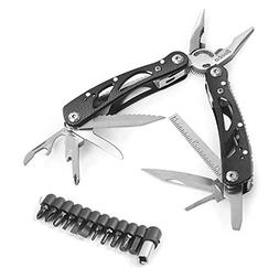 Becko Black 24-in-1 Multitool Pliers / Multifunctional Porta