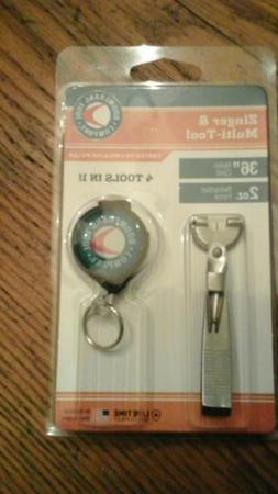 """Boomerang Fishing Multi Tool 4 tools in one. 36"""" cord 2oz pu"""