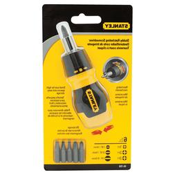 brand new multi bit screwdriver ratcheting 6