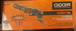 Brand New Rigid Octane JobMax Brushless 18V Multi-Tool R8621