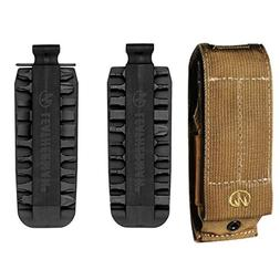 Leatherman XL Brown Molle SHEATH For MUT EOD SUPER TOOL,SURG