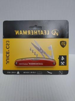 Leatherman Cinnabar Orange JUICE CS3 MultiTool 4 Tools in On