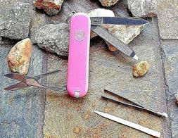 Victorinox CLASSIC SD PINK Orignal Swiss Army Knife 53005 NE