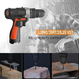 Cordless Lithium Electric Drill Household Multi-function Scr