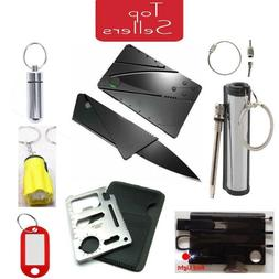 Credit Card Knives Lot folding wallet thin pocket survival m