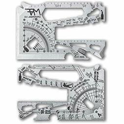 MRF MULTITOOLS Credit Card Multitool 60+Tools In One Univers
